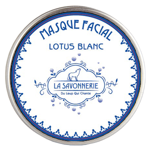 boite masque facial au lotus blanc